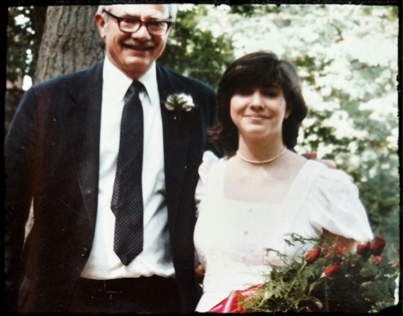 Leslie Absher and father